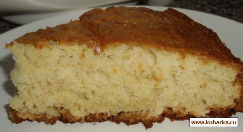 Тесто на йогурте для пирога