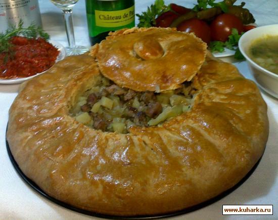 Рецепт пирог черепаха в