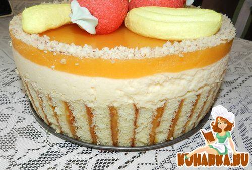 абрикосовый торт рецепт