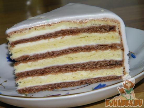 торт мишка на севере рецепт с фото